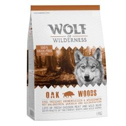 1 kg Adult Oak Woods Vildsvin Wolf of Wilderness Hundefoder