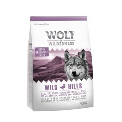 1 kg Adult Wild Hills And Wolf of Wilderness - Kornfrit Hundefoder