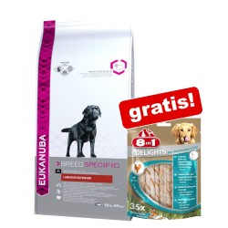 1 pose Eukanuba Breed + gratis snack! - Jack Russell Terrier (2 kg) + Skin & Coat fileter (80 g)