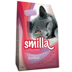 10 kg Adult Sterilised Smilla Kattemad
