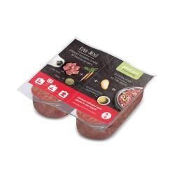10x2x200 g proCani BARF Oksemenu med gulerødder og kartoffel