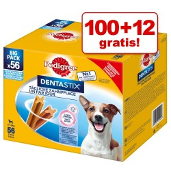 112 stk. Pedigree DentaStix Små hunde