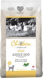 11,5 kg Kingsmoor Pure Dog Chicken Sport - Pure Sport Kingsmoor - mellem og store racer