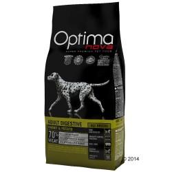 12 kg Adult Digestive Rabbit & Potato Optima nova Hundefoder