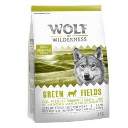 12 kg Adult Green Fields Lam Wolf of Wilderness - Kornfrit Hundefoder