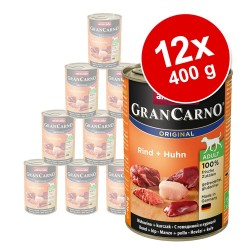 12 x 400 g Animonda GranCarno Original Adult - Multikød-cocktail