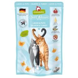 12 x 85 g GranataPet DeliCatessen Pouch Huhn PUR Katzenfutter nass