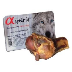 120 g Alpha Spirit Skinkeben halv ca. Hundegodbidder