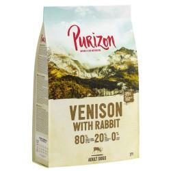 12kg Adult Vildt & Kanin 80:20:0 Purizon hundefoder