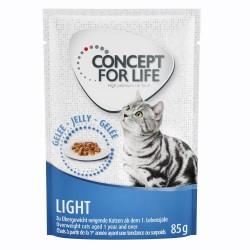 12x85 g Light Concept for Life i gelé Kattemad