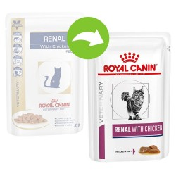 12x85g Renal Royal Canin Diet med kylling Kattemad