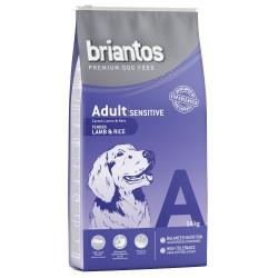 14 kg Briantos Adult Sensitive Lam & Ris Hundefoder