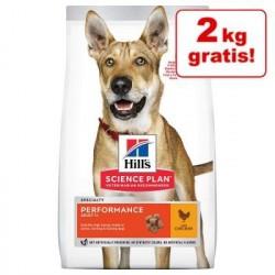 14 kg Hill's Science Plan Adult Senior Vitality 6+ Large mit Huhn Hundefutter trocken