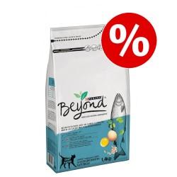 1,4 kg Rig på laks med fuldkornsbyg Beyond kattefoder til særpris!