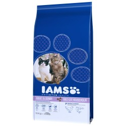15 kg Adult Multi-Cat Iams - Kattefoder