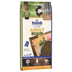 15kg Adult Fjerkræ & Hirse Bosch Hundefoder