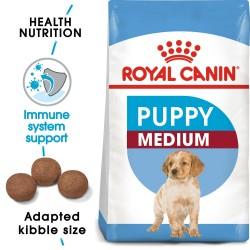 15kg Medium Junior Royal Canin Hundefoder