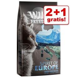 2 + 1 gratis! 3 x 2 kg Wild Freedom tørfoder - Adult ''Wide Country'' - Fjerkræ