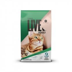 2 kg. ProBiotic LIVE Adult Kat - med Lam