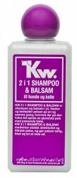 200 ml KW 2-i-1 shampoo og balsam