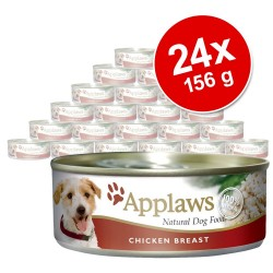 24x156 g Applaws Kylling, Okse & Grøntsager Hundefoder- Hundefoder