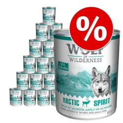 24x800 g The Taste of Scandinavia of Wilderness Hundefoder