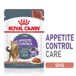24x85g Appetite Control Royal Canin vådfoder i sauce Kattemad