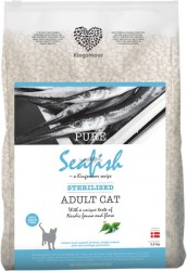 2,5 kg Kingsmoor Pure Cat Seafish sterilised - Pure Havfisk KINGSMOOR til voksen neutraliseret kat