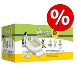25% rabat! Purina Tidy Cats Breeze Kattegrus-System - Kattetoilet-pads (4 stk.)