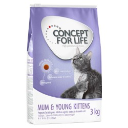 2x10kg Mum & Young Kittens Concept for Life kattemad