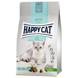2x10kg Sensitive Light Happy Cat Kattefoder tørt