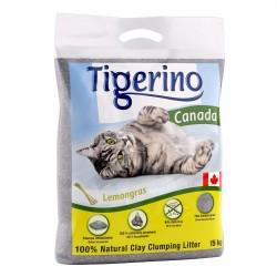 2x12 kg Citrongræsduft Tigerino Canada Kattegrus