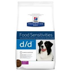 2x12 kg d/d Allergy & Skin Care Hill's Diet Hundefoder