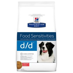 2x12 kg d/d Food Sensitivities Laks & Ris Hill's Diet Canine Hundefoder