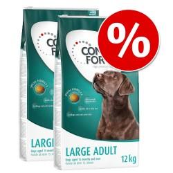 2x12 kg Large Light Concept for Life Hundefoder