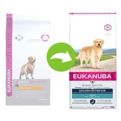 2x12kg Adult Breed Specific Golden Retriever Eukanuba hundefoder
