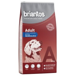 2x14 kg Briantos Adult Laks & Ris Hundefoder