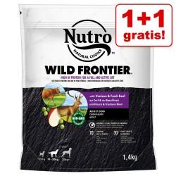 2x1,4kg Adult Huhn Nutro Hunde Trockenfutter - 1 + 1 gratis!