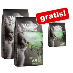 2x2kg + 400g gratis! Wild Freedom Katzenfutter trocken - Spirit of America