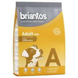3 kg Briantos Adult Mini Lam & Ris Hundefoder