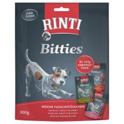 3x100 g Rinti Bitties Blandet pakke Mix: 3 varianter Hundegodbidder