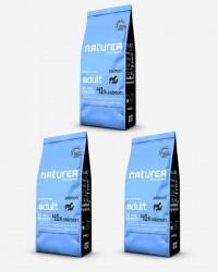 3x12 kg Naturea Naturals Adult m/ Laks