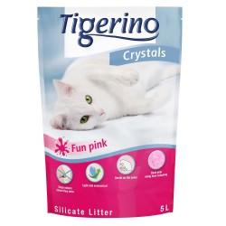 3x5 l Tigerino Crystals Fun Blå kattegrus