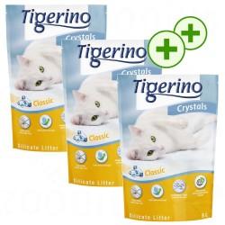 3x5 l Tigerino Crystals Tigerino Crystals Lavendel Kattegrus