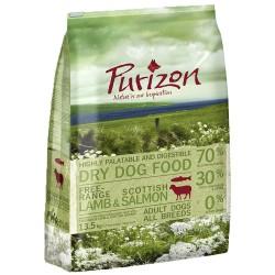 4 kg Adult Lam & Laks Purizon - Kornfrit Hundefoder
