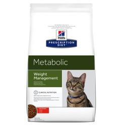 4 kg Metabolic Weight Management Hill's Diet Kattemad