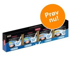 4 x 100 g Animonda Vom Feinsten Adult Milkies Mixpaket Milkieskern Katzennassfutter