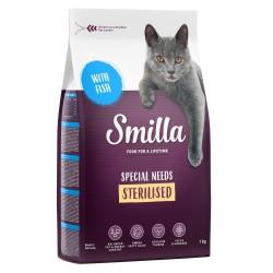 4kg Smilla Adult Sterilised Fisk tørfoder til katte
