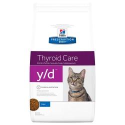 5 kg Hill's Diet y/d Thyroid Health Kattemad