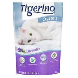 5 l Tigerino Crystals Lavendel Kattegrus